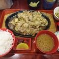 写真: 野菜炒め定食