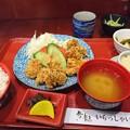 Photos: から揚げ定食