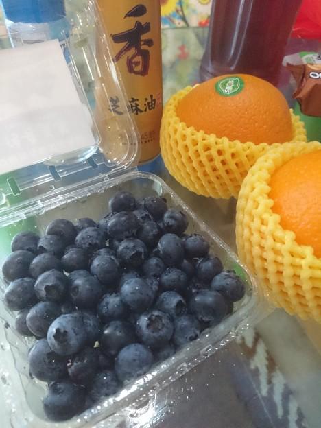 藍苺 西班牙橙 芝麻油