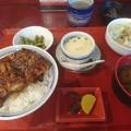 ミニうなぎ丼定食