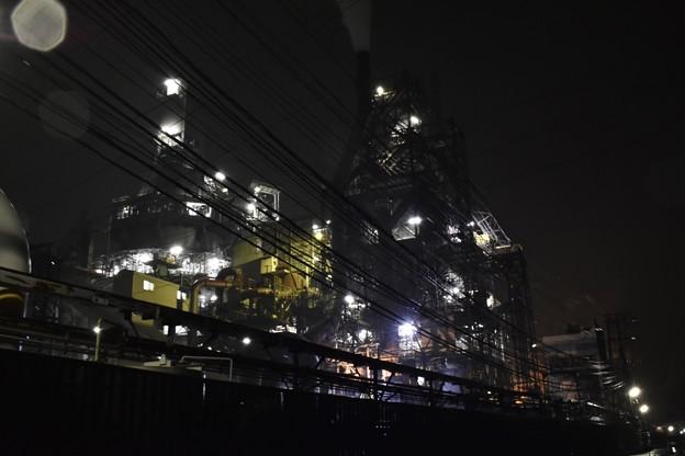 糸魚川の工場夜景