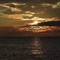 Photos: 須沢海岸からの夕焼け