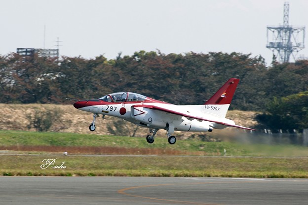 赤白のT-4