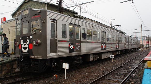 熊本電鉄 6000形 6221fe編成