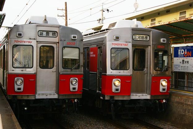 1802Fと1801F