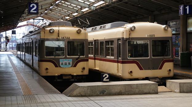 富山地鉄 14722Fと10025F
