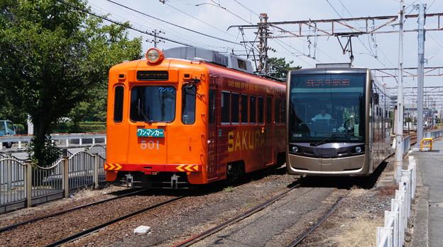 阪堺電軌 501と1003