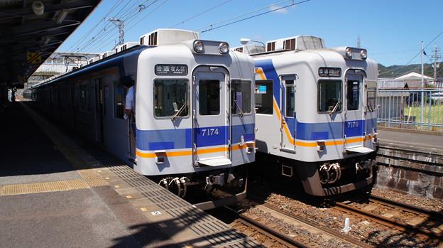 南海 7100系 7173Fと7169F