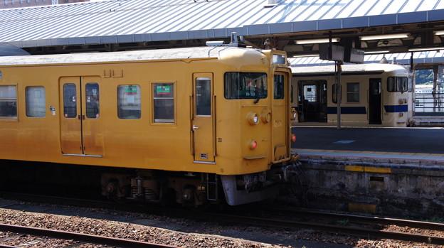 115系 N-18とJR九州 415系 Fo126