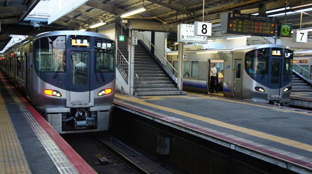 225系 HF603とHF6**