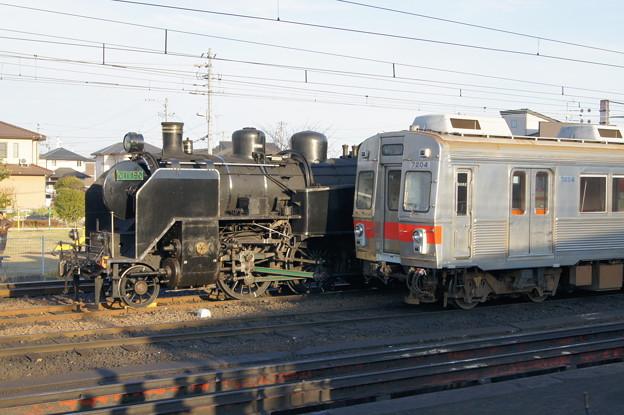 大井川鐵道 C11 190と7200系 7204