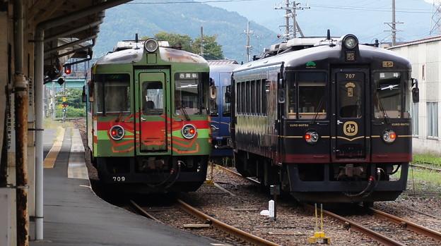 丹鉄 KTR709とKTR706