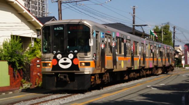 熊本電鉄 01形 01-136編成