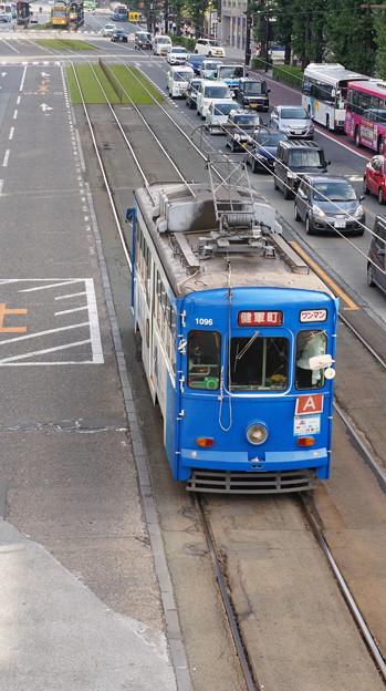 熊本市電 1096