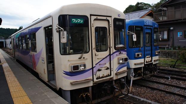 明知鉄道 アケチ10形 10と12