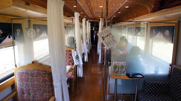 長良川鉄道 ナガラ300形 302 車内