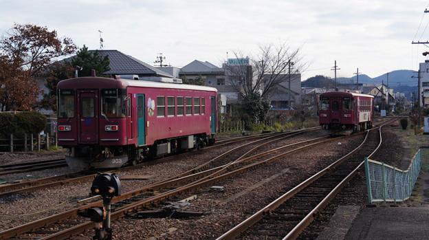 長良川鉄道 ナガラ300形 303と305