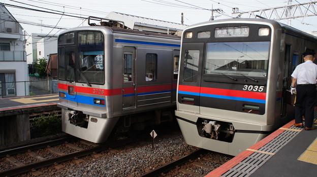 京成 3700形 3708Fと3000形 3035F