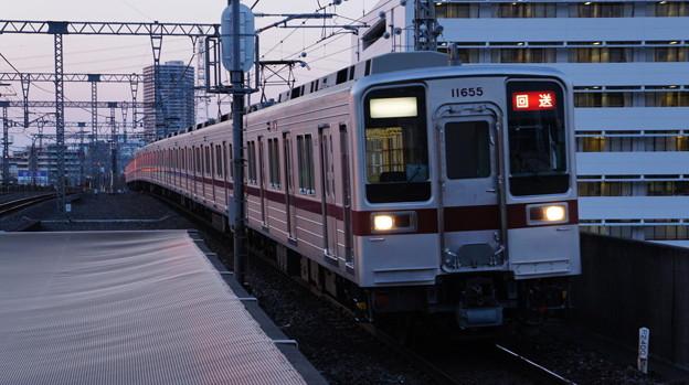 東武 10030系 11655F