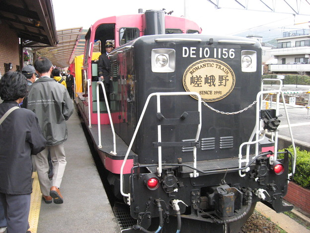 嵯峨野観光鉄道 DE10 1156