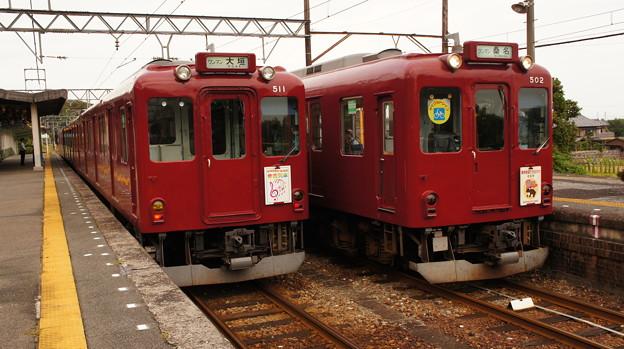 養老鉄道 610系 D11と600系 D02