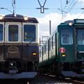 Photos: 2013系 XT07と8400系 B09