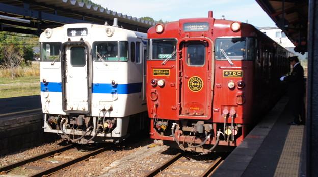 JR九州 キハ147 1032とキハ47 8159