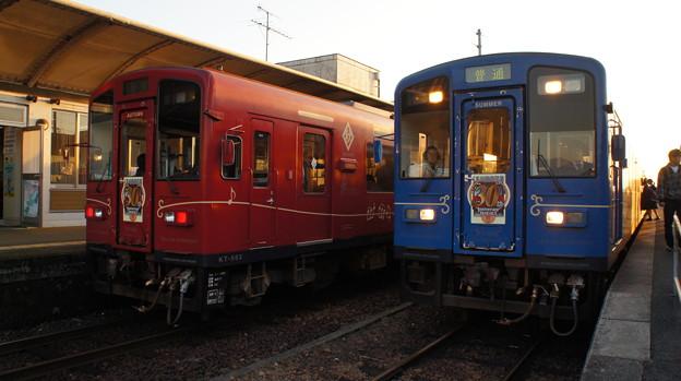 くま川鉄道 KT-502とKT-504
