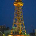 写真: オアシス21から見上げた、イルミネーションが新しくなった名古屋テレビ塔 - 06