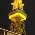 写真: オアシス21から見上げた、イルミネーションが新しくなった名古屋テレビ塔 - 11