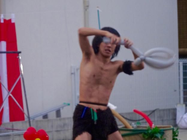 大須大道町人祭 2015 No - 161:アニマル・バルーン「ザーキー岡」さんのパフォーマンス
