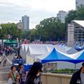 写真: 名古屋まつり 2015 久屋大通公園 No - 25:大勢の人で賑わう会場