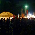 写真: 名港水上芸術花火 2015 No - 10:花火を見ようと集まった大勢の人(ガーデンふ頭臨港緑園)