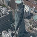 Photos: iOS 9マップアプリ:名古屋の「Flyover」- 3(スパイラルタワーズ)