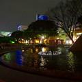 写真: 名古屋テレビ塔に向けてレーザー光線を出している、久屋大通公園噴水のピラミッド - 3
