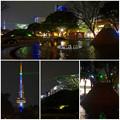Photos: 名古屋テレビ塔に向けてレーザー光線を出している、久屋大通公園噴水のピラミッド - 8