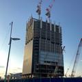写真: ささしまライブ24:建設途中の複合施設「グローバルゲート」 - 2