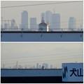 写真: イトーヨーカドー犬山店の駐車場から見えた、名駅ビル群 - 10