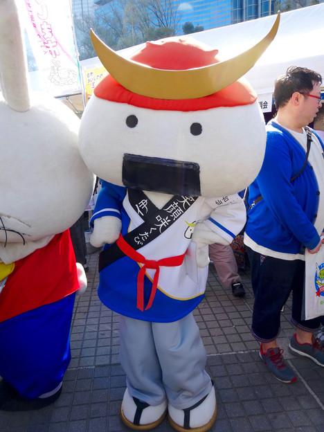 旅まつり 2016 No - 44:仙台のゆるキャラ「むすび丸」