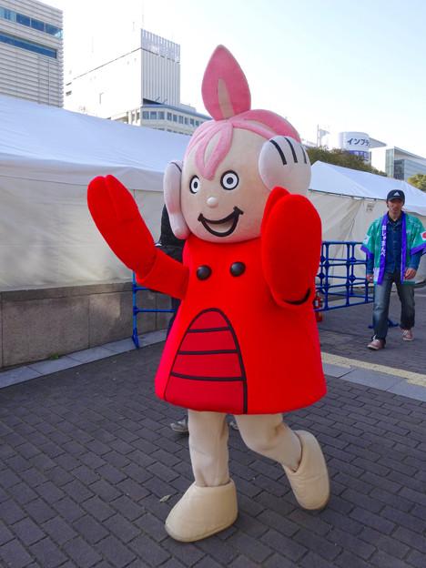 旅まつり 2016 No - 74:北海道のゆるキャラ「まんべくん」