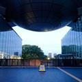 写真: 閉館後の名古屋市科学館正面入口 - 2