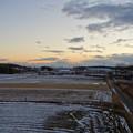太良池から見た夕暮れ時の名駅ビル群 - 1