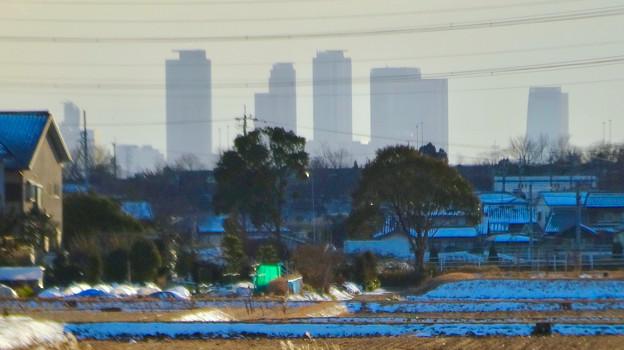 小牧市大草から見えた名駅ビル群 - 3