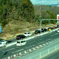 オープン4ヶ月後でも渋滞できてたIKEA長久手を向かう道路 - 3