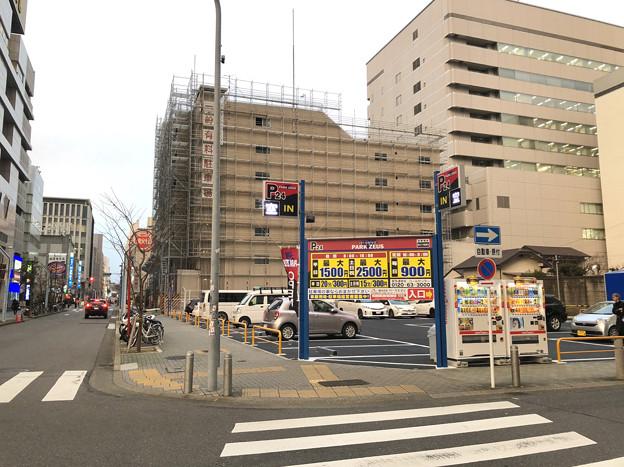 ナディアパーク横の建物が解体され駐車場に! - 3