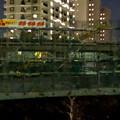 写真: 桃花台線の桃花台中央公園南側高架撤去工事(2018年2月7日):割りと早く進む撤去 - 6
