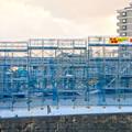 写真: 桃花台線の桃花台中央公園南側高架撤去工事(2018年2月11日) - 4