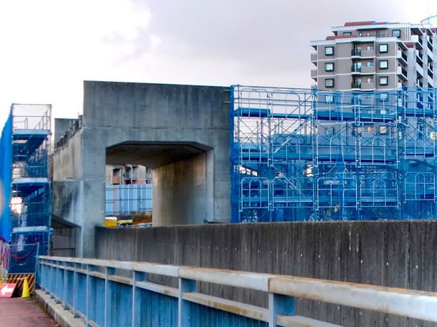 桃花台線の桃花台中央公園南側高架撤去工事(2018年2月11日) - 7