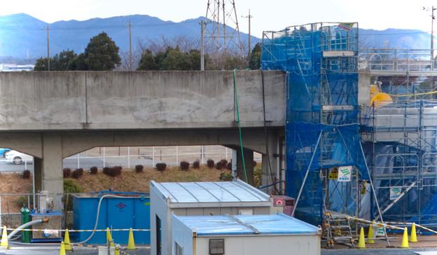 桃花台線の桃花台中央公園南側高架撤去工事(2018年2月11日) - 14