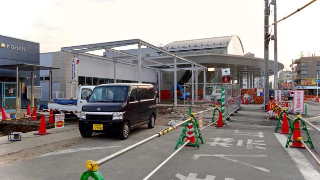 まだかなり工事してた、JR春日井駅北口前(2018年2月14日) - 9